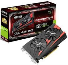 ASUS EX-GTX1050TI-O4G Graphics Card